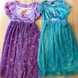 Disney nightgowns (set of 2)